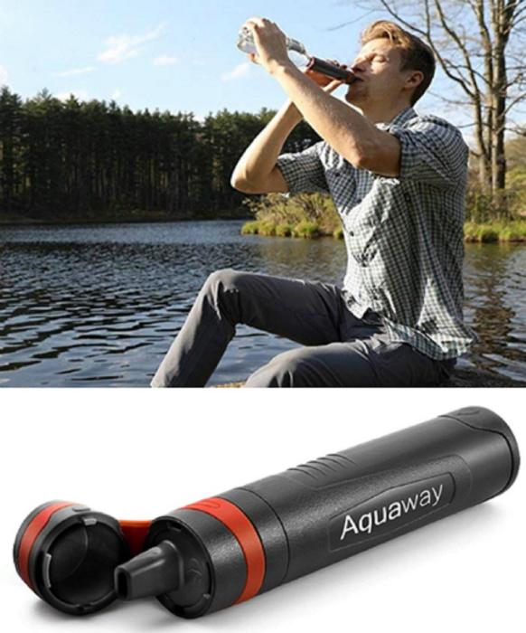 Компактный фильтр для воды.