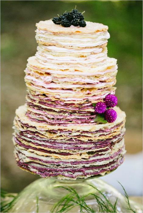 Блинный торт.