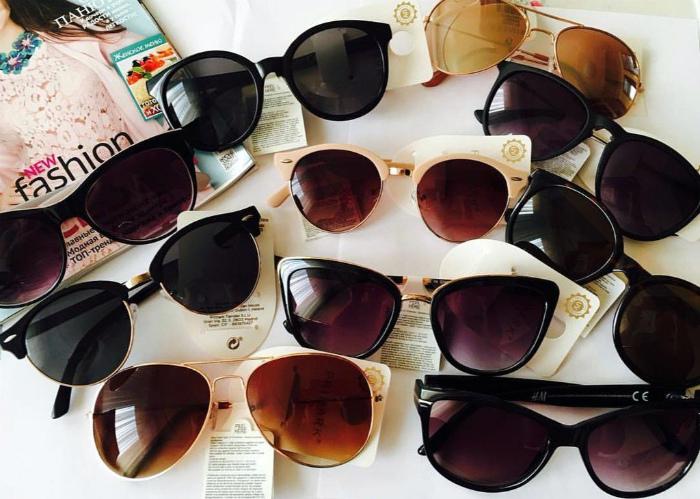 Солнцезащитные очки. | Фото: Клубок.