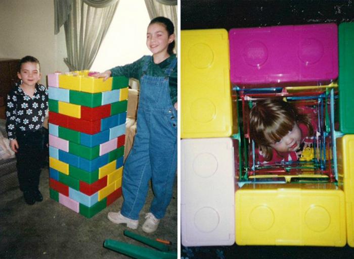 Игры в Лего с младшими членами семьи. | Фото: BlazePress.