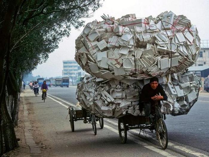 Службы доставки в Азии. | Фото: Detetive Curioso.