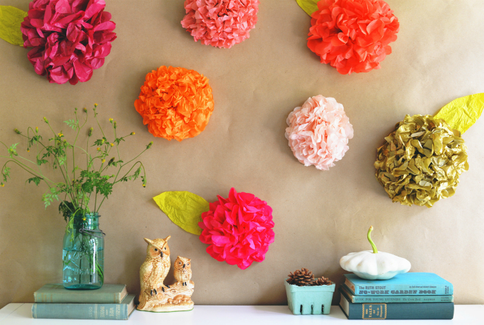 11No-MoneyDecoratingIdeasforWall Декор стен своими руками: 9 красивых идей, 50 фото