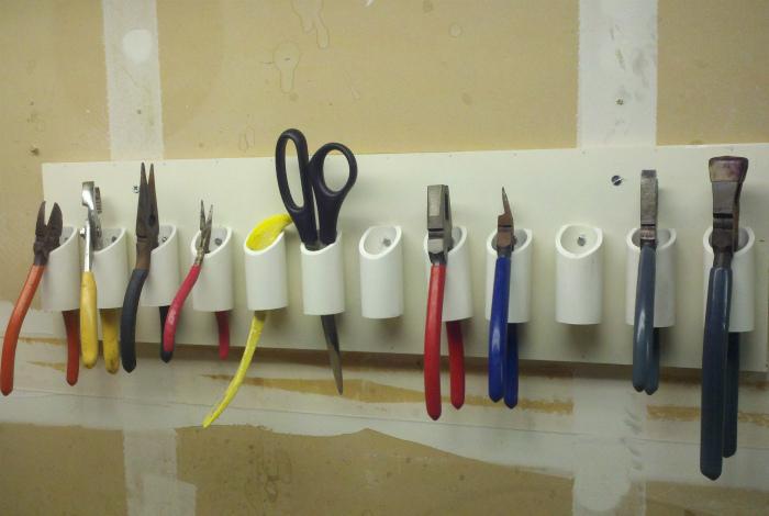 Органайзер для мелкого инструмента. | Фото: Cell Code.