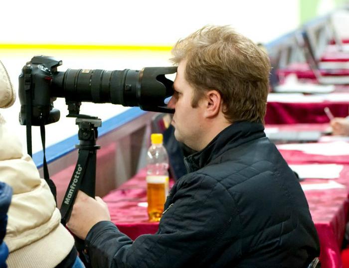 Странный «фотограф».