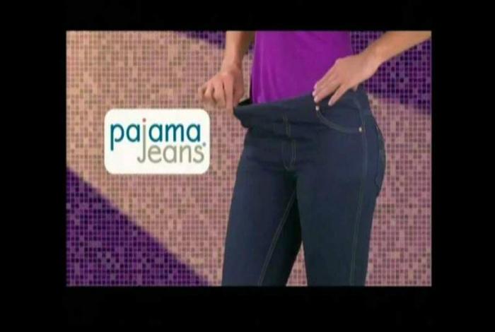 Пижамные штаны, которые выглядят, как джинсы.