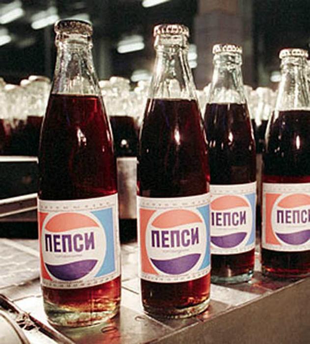 В 1979 началась массовая продажа «Пепси» в фирменных киосках Москвы. Бутылочка заморского напитка стоила 45 копеек.