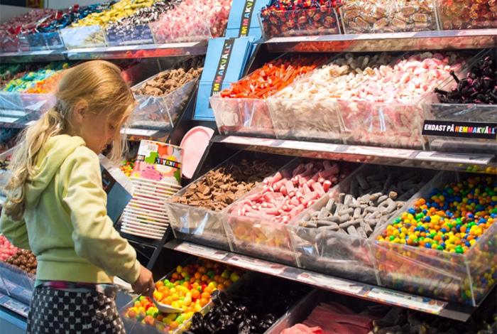 Суббота - день конфет. | Фото: 7kontinentov.ru.