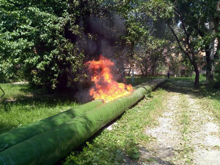 Система нагрева воды. | Фото: Пикабу.