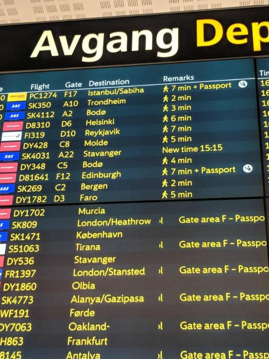 Необычное табло в Аэропорту.| Фото: Seldon.News.