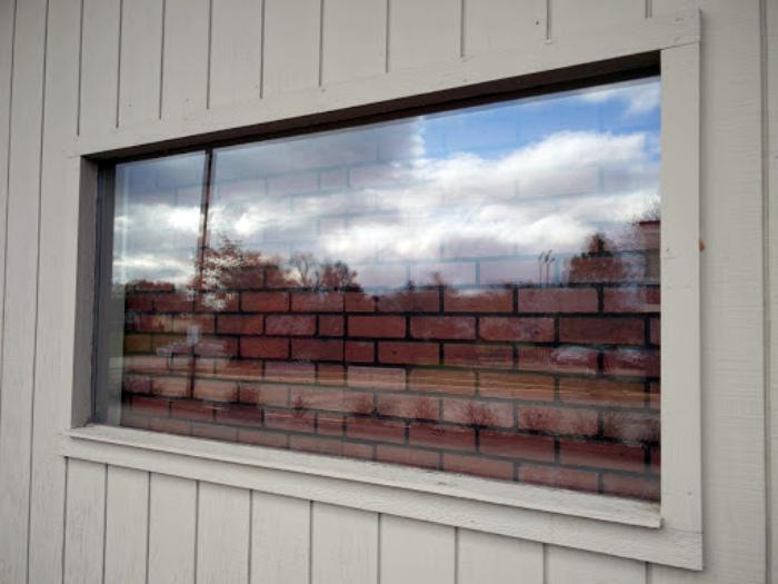 Окно для тех, кто не хочет никого видеть. | Фото: Veetrina.
