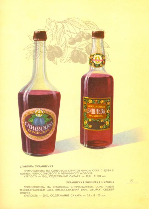 Сладкие и легкие настойки приготовленные из фруктово-спиртовых соков.