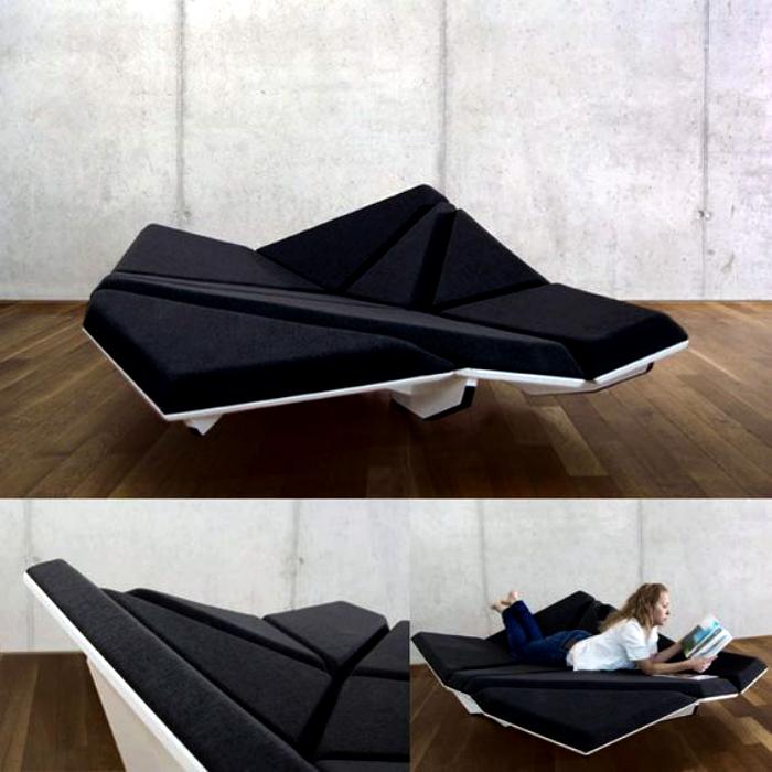Гибкий диван-трансформер от Александра Рена.
