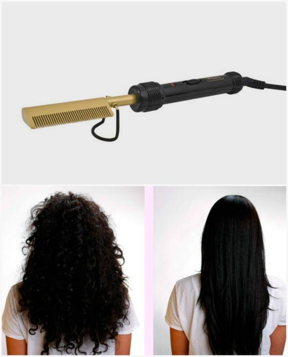 Расческа Wahl для выпрямления волос.