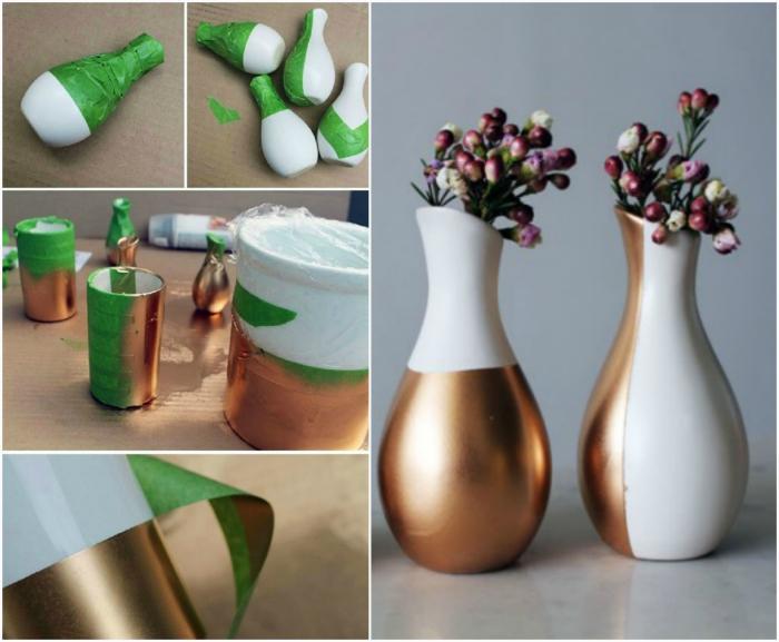 Рисунки на вазах.