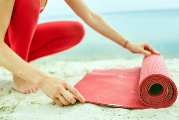 Тренировочный коврик.