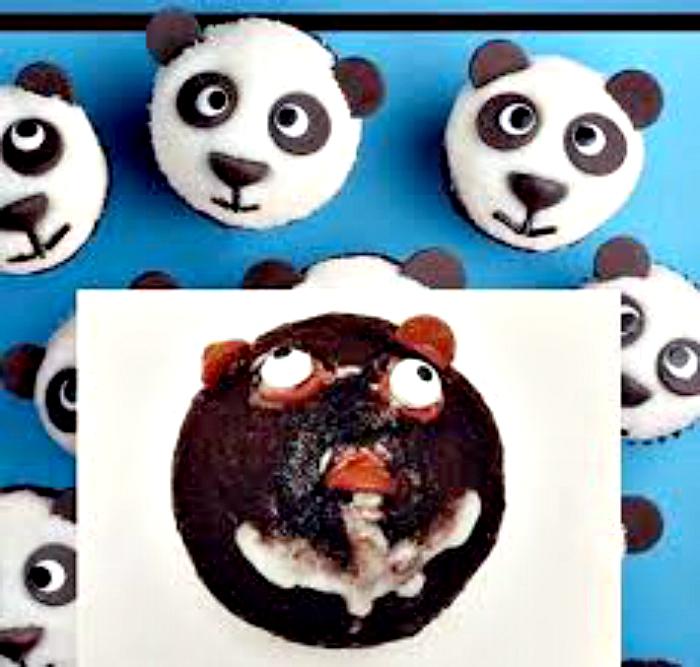 Панда-мутант.