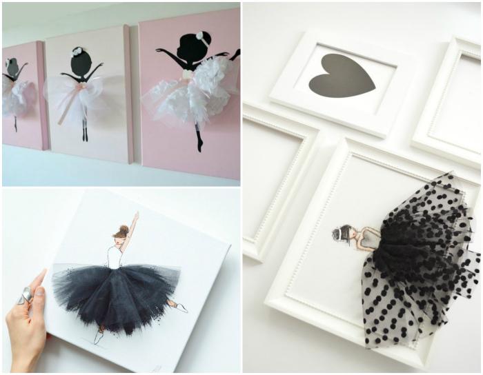 Очаровательные картины с изображениями балерин.