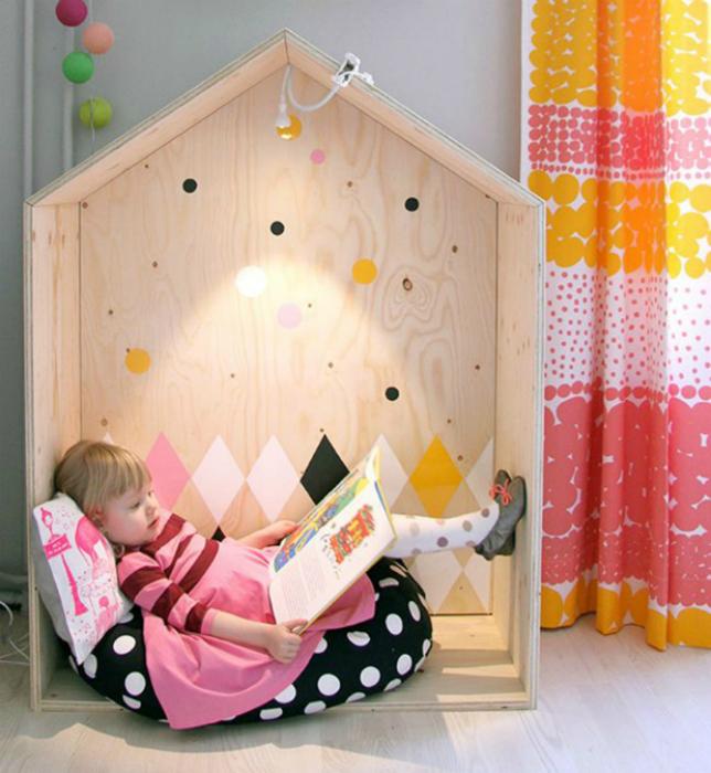 Мебель в детскую своими руками из фанеры 5
