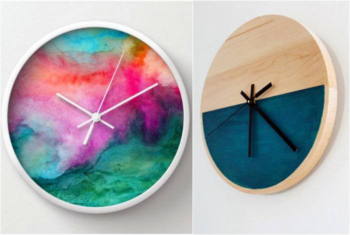 Уникальный дизайн часов.