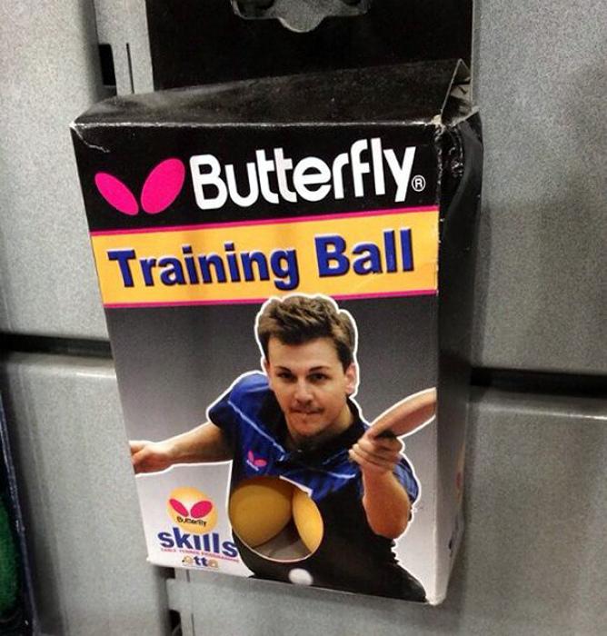 Креативная упаковка мячиков.