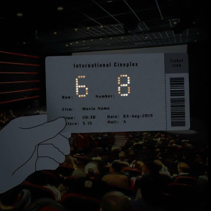 Необычные детали билетика из кино. | Фото: BuzzFeed.