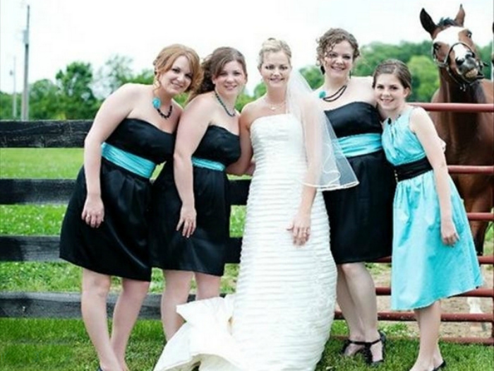 Подружка невесты.