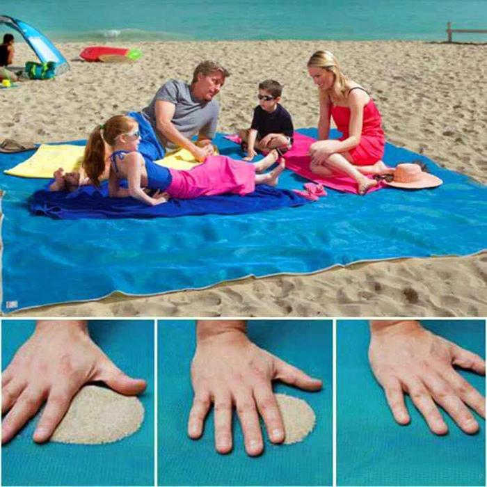 Подстилка, пропускающая песок.