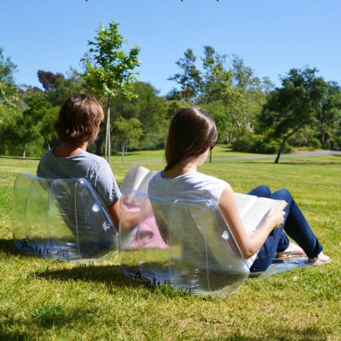 Надувные спинки. | Фото: deroomo.info.