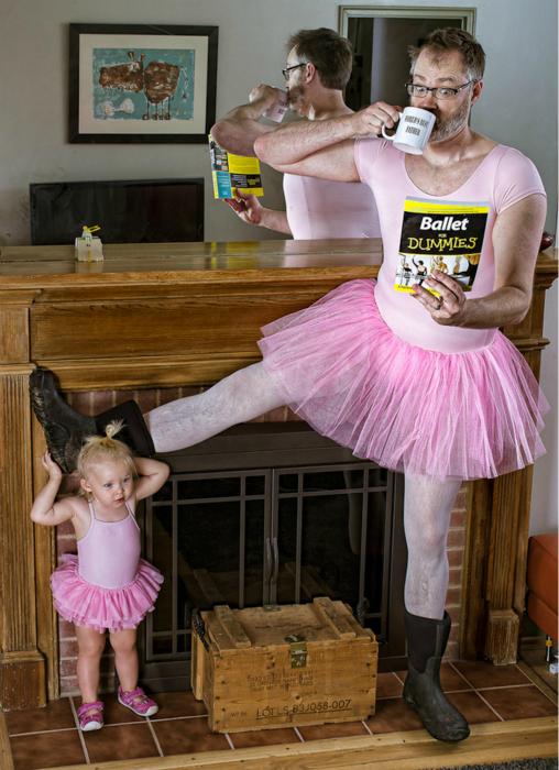 Очаровательные балерины.