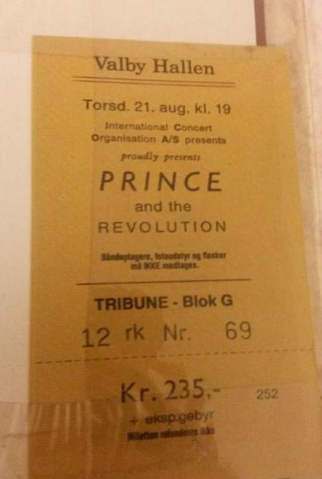 Билетик в книге.