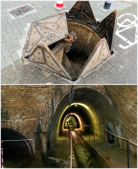 Люки, ведущие в подземелье. | Фото: EgybeMinden.