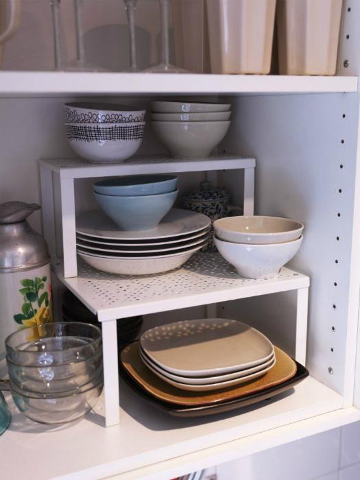 Этажерка для посуды. | Фото: Pinterest.