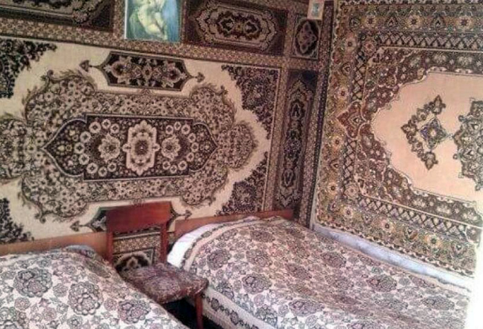 Комната в одном стиле.