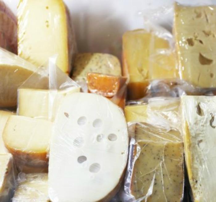 Замороженный сыр. | Фото: BBC.