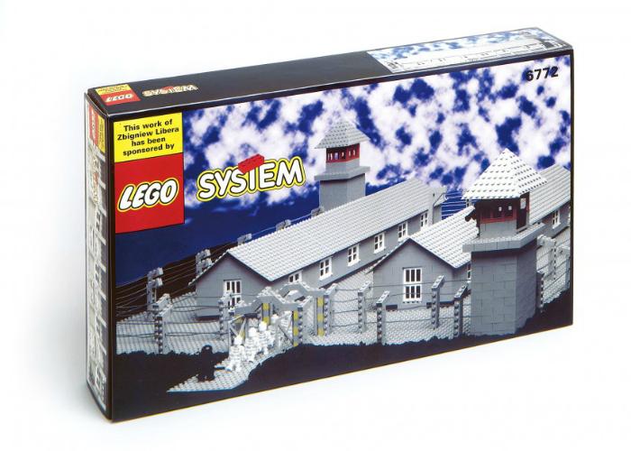 Известная компания Лего предлагает малышам построить собственную тюрьму.