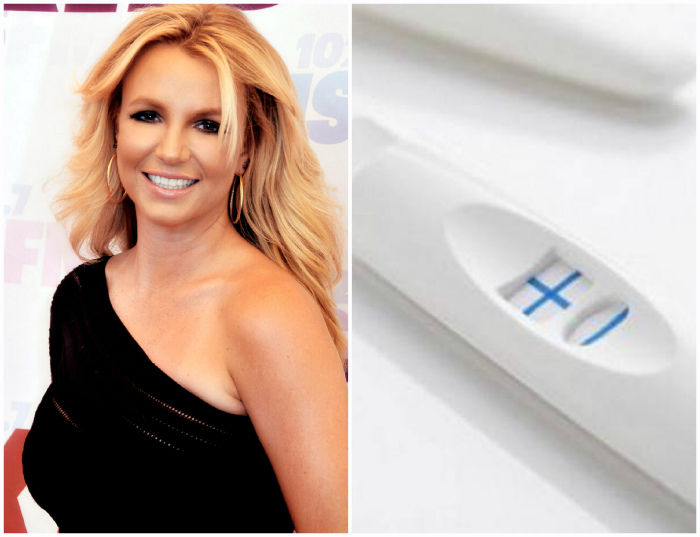 Тест на беременность Бритни Спирс за 5001 доллар.