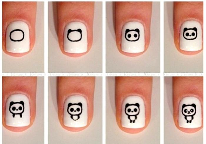 Как рисовать рисунок на ногтях