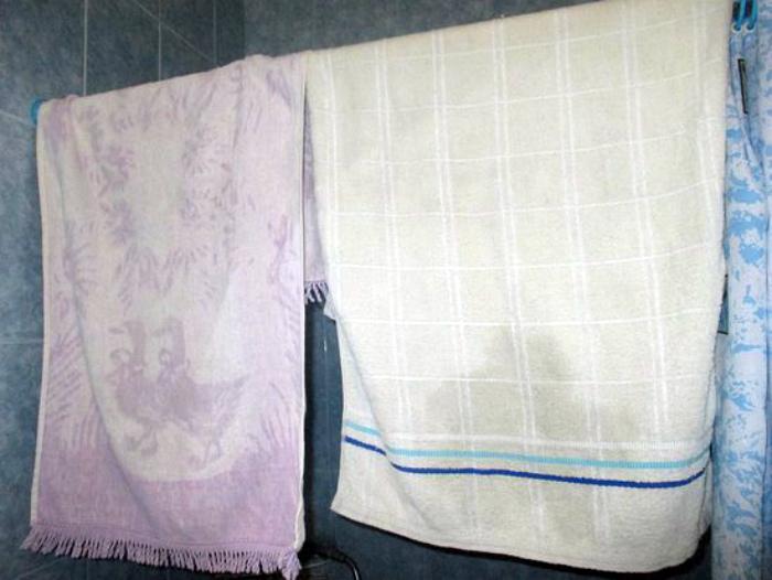 Ужасные застиранные полотенца. | Фото: TripAdvisor.