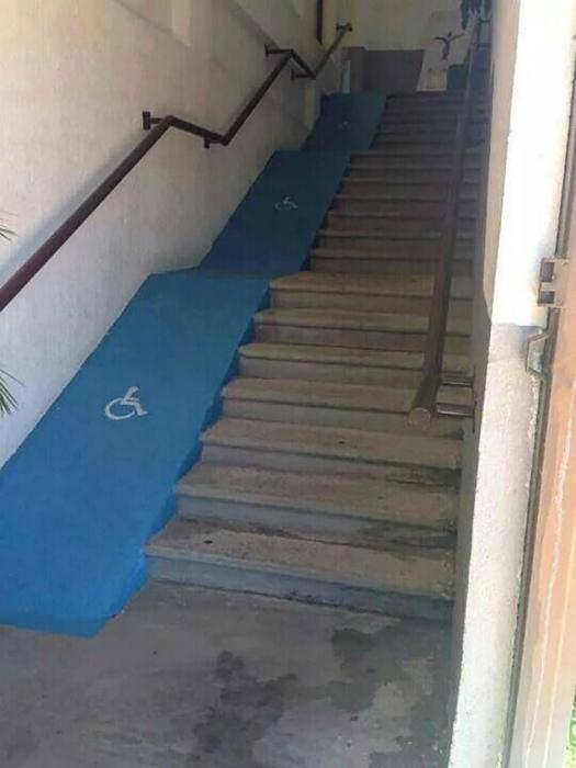 А разве не все инвалиды любят экстрим! | Фото: Pinterest.