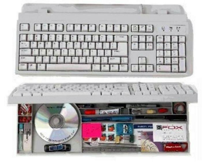 Клавиатура с секретом. | Фото: Pinterest.