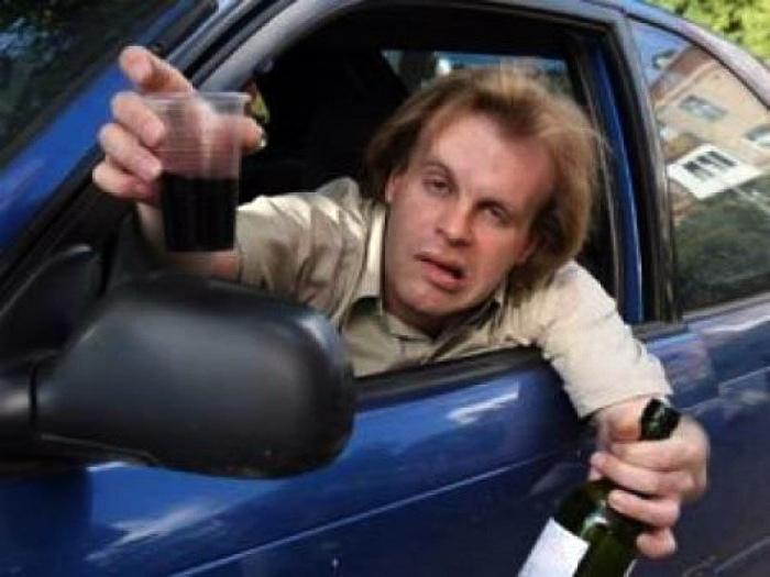 Самый пьяный водитель.