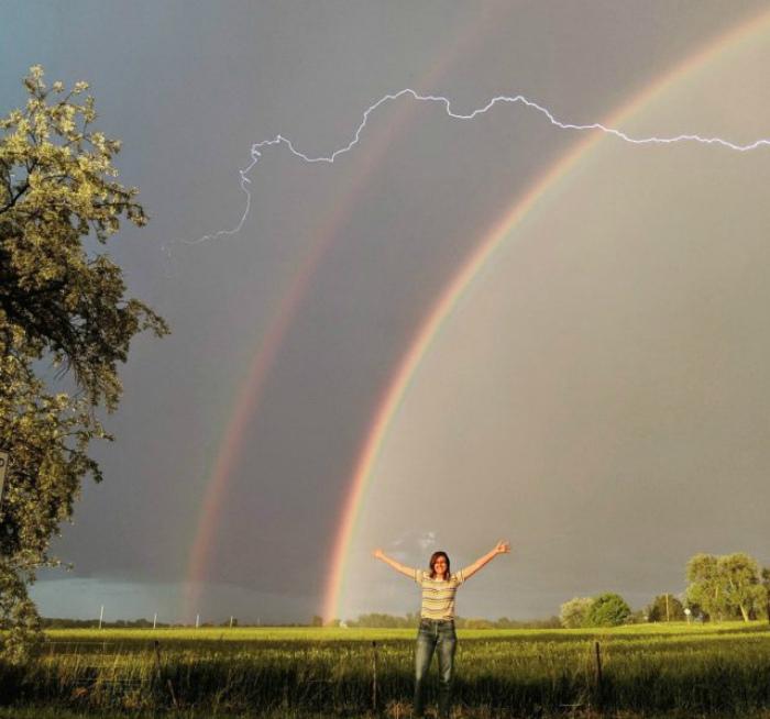 Контрастные природные явления. | Фото: Kaifolog.ru.
