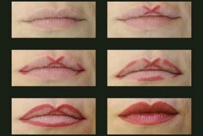 Идеальный контур губ.