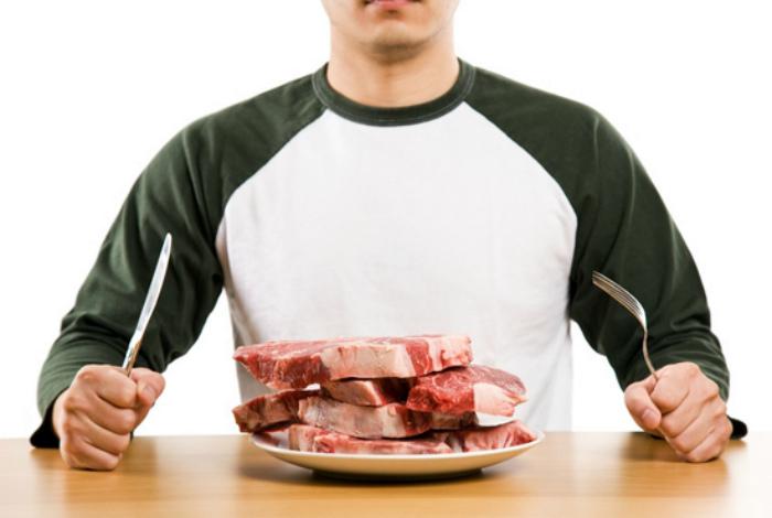 Человеческое мясо менее питательное, чем мясо животных.