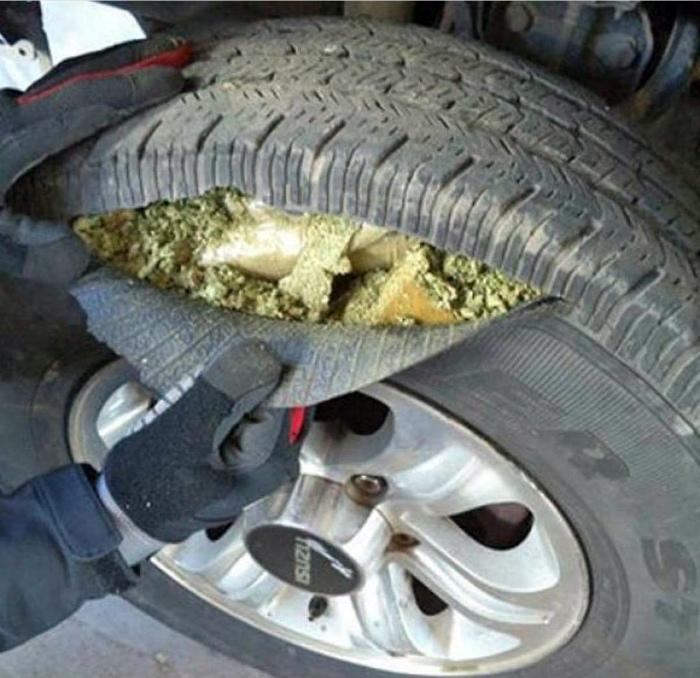 Наркотики в колесах.