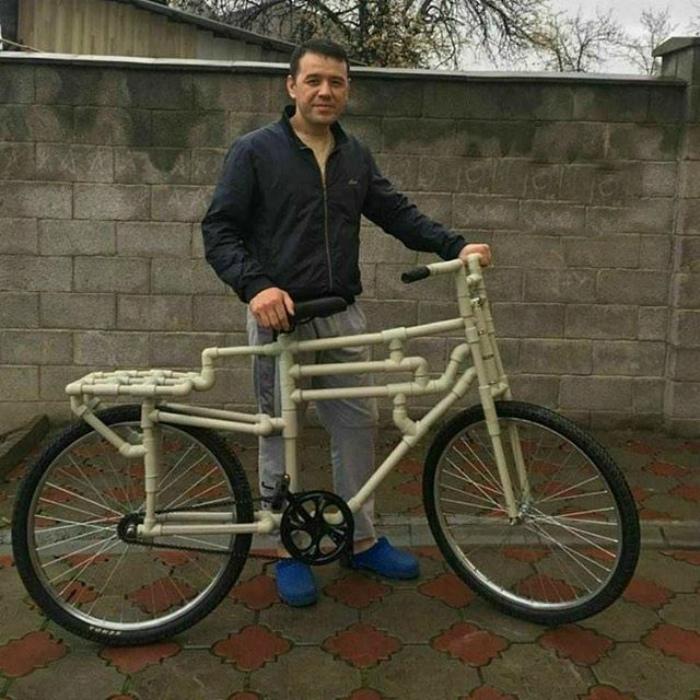 Велосипед в стиле «сделай сам». | Фото: Тролльно.