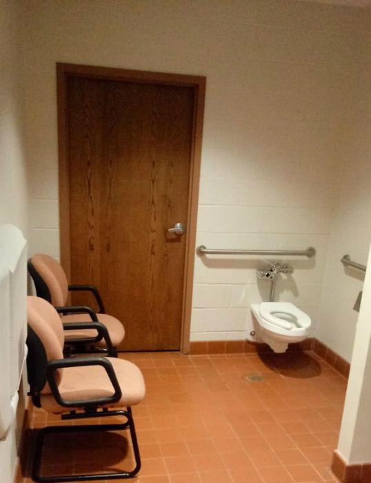 А стулья для группы поддержки, наверное... | Фото: BoredBug.