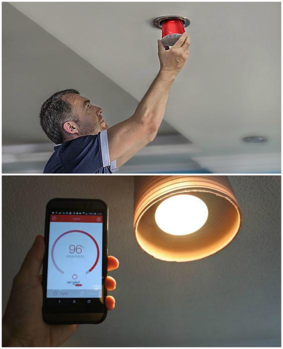 Sengled Snap - умная многозадачная лампочка.
