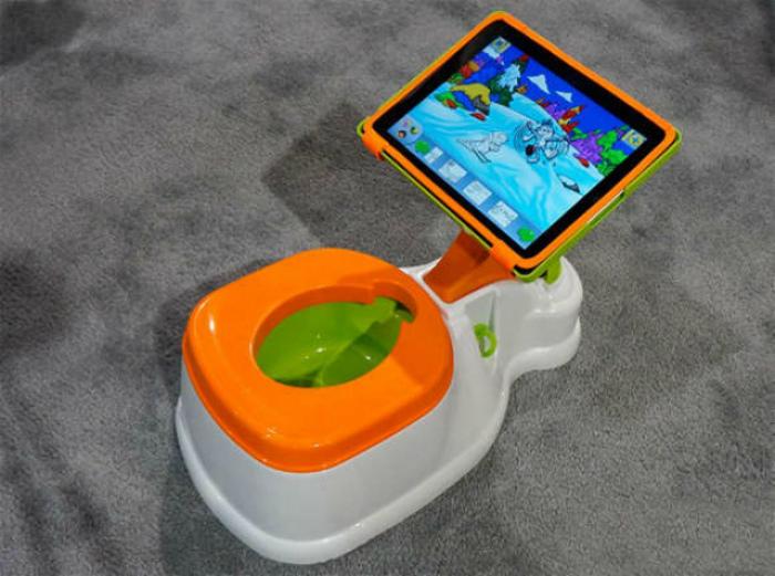 Горшок с держателем для планшета. | Фото: sb-advice.com.