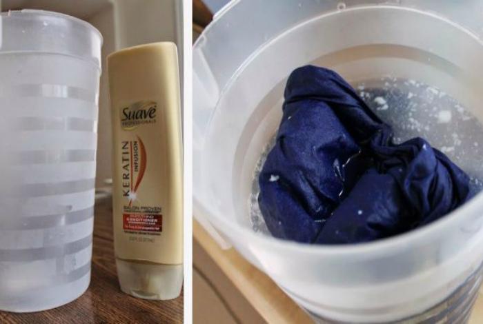 Кондиционер для волос для стирки белья.
